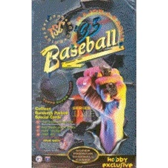 1995 Topps Stadium Club Series 1 Baseball Hobby Box
