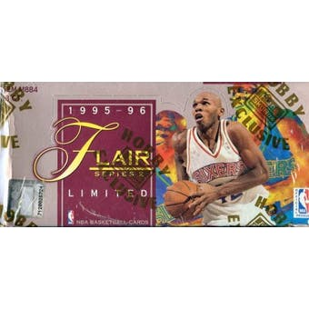 1995/96 Flair Series 2 Basketball Hobby Box
