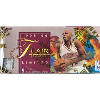 1995/96 Flair Series 2 Basketball Hobby Box