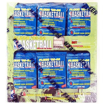 1995/96 Fleer Series 1 Basketball Jumbo Box