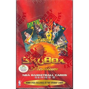 1995/96 Skybox Premium Series 2 Basketball Hobby Box