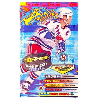 1995/96 Topps Series 2 Hockey Hobby Box