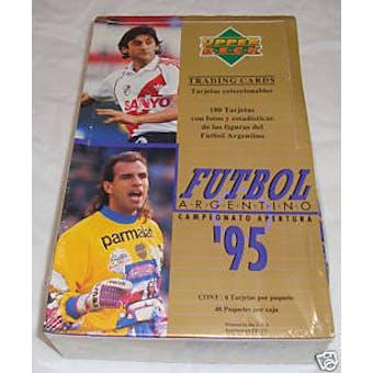 1995 Upper Deck Argentino Futbol Soccer Hobby Box