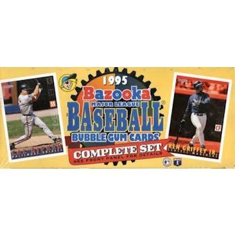 1995 Topps Bazooka Baseball Factory Set