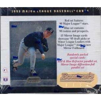 1995 Bowman's Best Baseball Retail 20 Pack Box
