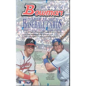 1995 Bowman Baseball Hobby Box