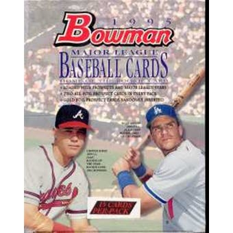 1995 Bowman Baseball Rack Box