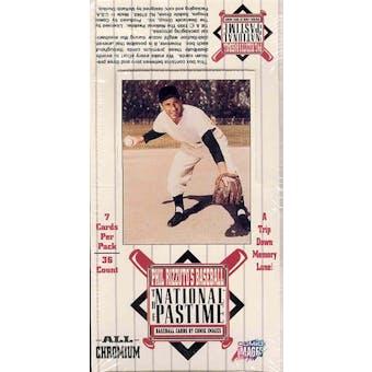 Phil Rizzuto's National Pastime Baseball Box (1995 Comic Images)