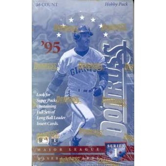 1995 Donruss Series 1 Baseball Hobby Box