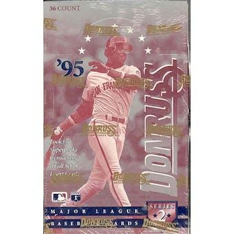 1995 Donruss Series 2 Baseball Hobby Box