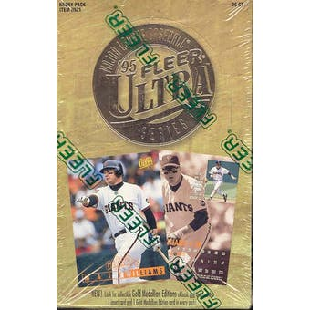 1995 Fleer Ultra Series 1 Baseball Hobby Box