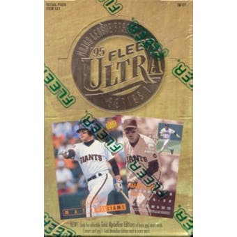 1995 Fleer Ultra Series 1 Baseball 36 Pack Box