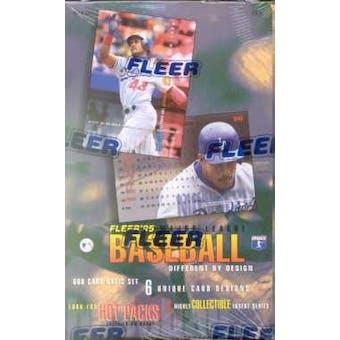 1995 Fleer Series 1 Baseball Hobby Box