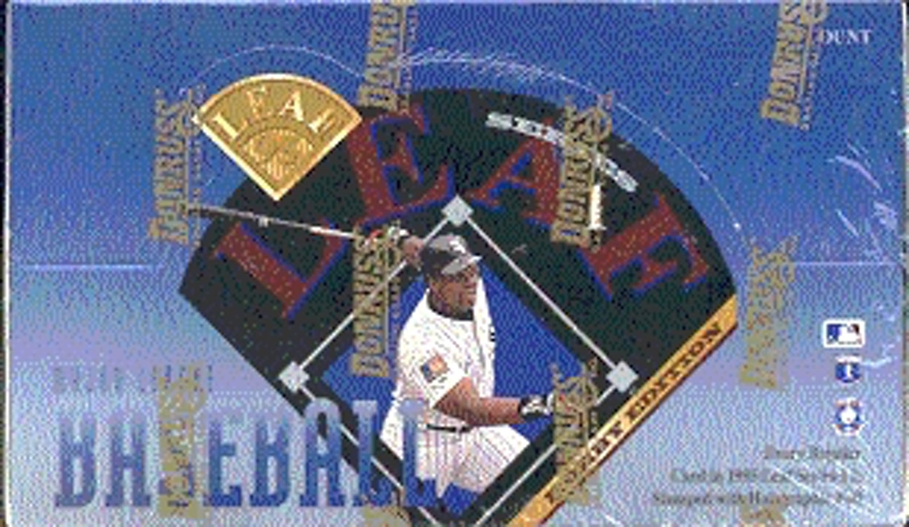 1995 Leaf Series 1 Baseball Hobby Box Da Card World