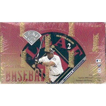1995 Leaf Series 2 Baseball Hobby Box