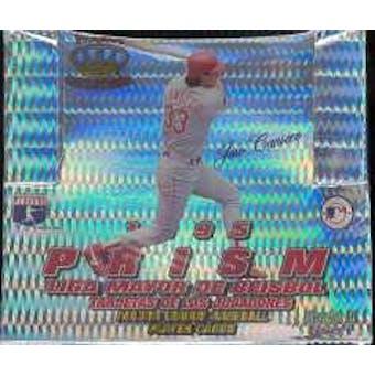 1995 Pacific Prism Baseball Hobby Box