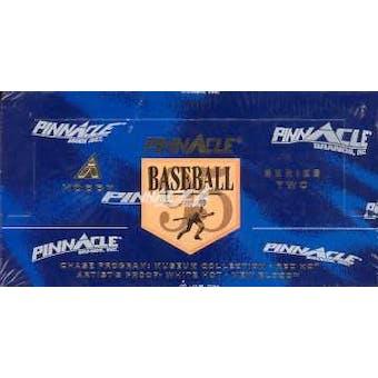 1995 Pinnacle Series 2 Baseball Hobby Box