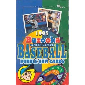 1995 Topps Bazooka Baseball Hobby Box