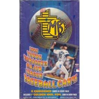 1995 Topps Embossed Baseball Hobby Box