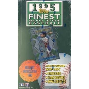 1995 Topps Finest Series 1 Baseball Hobby Box