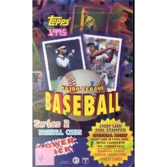 1995 Topps Series 2 Baseball 36 Pack Box