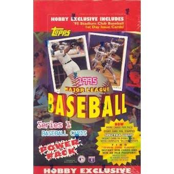 1995 Topps Series 1 Baseball Hobby Box