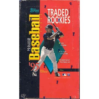 1995 Topps Traded & Rookies Baseball Hobby Box