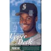 1995 Upper Deck Series 2 Baseball Hobby Box (Reed Buy)