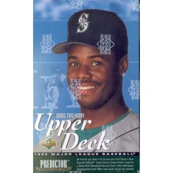 1995 Upper Deck Series 2 Baseball Hobby Box