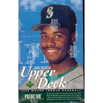 1995 Upper Deck Series 2 Baseball Retail Box