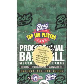 1995 Best Minor League Baseball Hobby Box