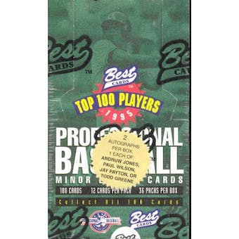 1995 Best Minor League Baseball Hobby Box