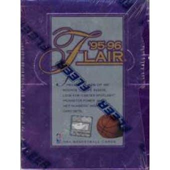 1995/96 Flair Series 1 Basketball Hobby Box