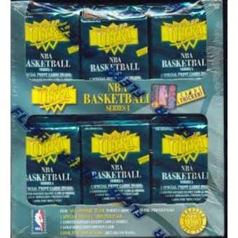 1995/96 Fleer Ultra Series 1 Basketball Jumbo Box