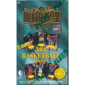 1995/96 Fleer Ultra Series 1 Basketball Hobby Box