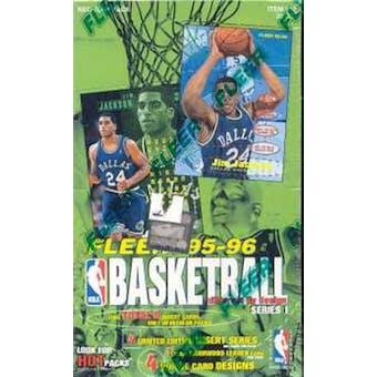 1995/96 Fleer Series 1 Basketball Hobby Box