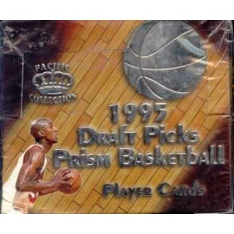 1995/96 Pacific Prism Draft Picks Basketball Hobby Box