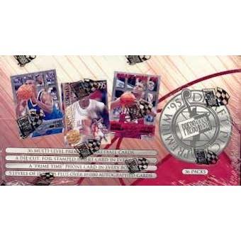 1995/96 Press Pass Premium Draft Pick Basketball Hobby Box