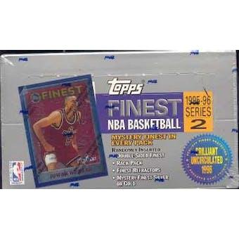 1995/96 Topps Finest Series 2 Basketball Hobby Box