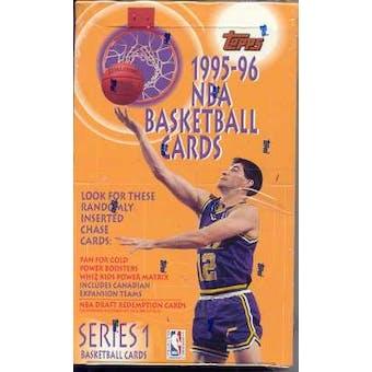 1995/96 Topps Series 1 Basketball Hobby Box