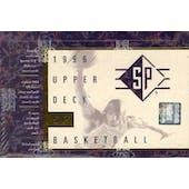 1995/96 Upper Deck SP Basketball Hobby Box (Reed Buy)