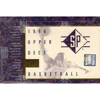 1995/96 Upper Deck SP Basketball Hobby Box