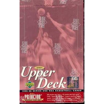 1995/96 Upper Deck Series 1 Basketball Hobby Box