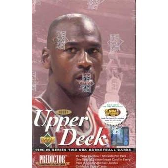 1995/96 Upper Deck Series 2 Basketball Hobby Box