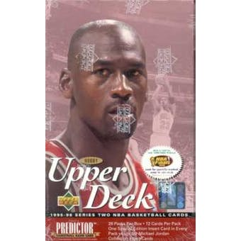 1995/96 Upper Deck Series 2 Basketball Hobby Box