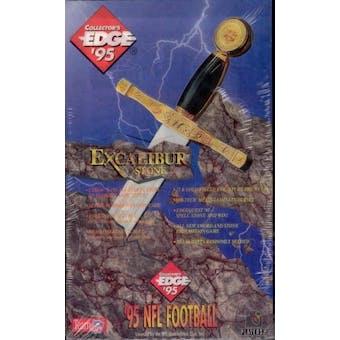 1995 Collector's Edge Excalibur Series 2 Football Hobby Box