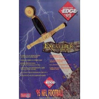 1995 Collector's Edge Excalibur Series 1 Football Hobby Box