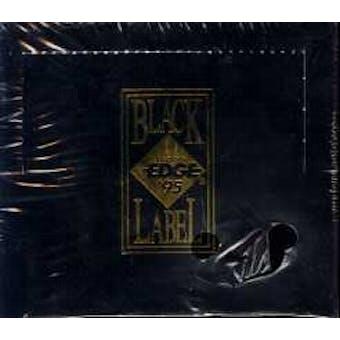 1995 Collector's Edge Black Label Football Hobby Box