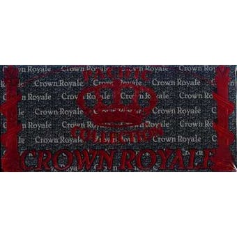 1995 Pacific Crown Royale Football Hobby Box