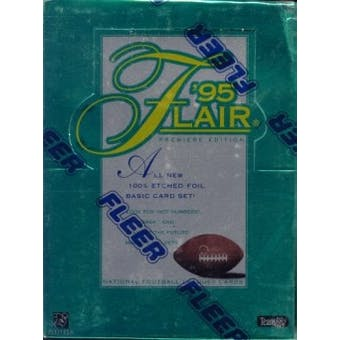 1995 Fleer Flair Football Hobby Box (Reed Buy)